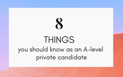 How to register as an A-level private candidate?